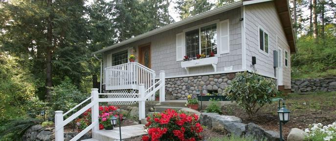 A Hidden Haven & Water Garden Cottages - Port Angeles - Rakennus