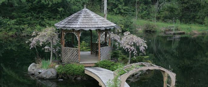 A Hidden Haven & Water Garden Cottages - Port Angeles - Patio